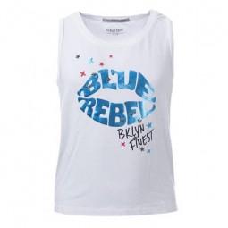 Blue Rebel Top, Mädchen