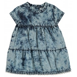 Noppies Kleid blau, Baby-...