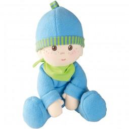 Haba Kuschel- Puppe Luis