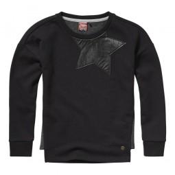 Vingino Pullover schwarz,...