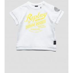 Replay T-Shirt, Baby-Jungen