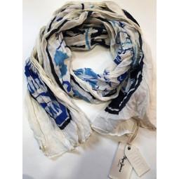 Pepe Jeans Tuch blau-weiß,...