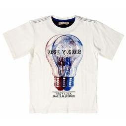 ncd:) T-Shirt weiß, Jungen
