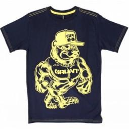 Grunt T-Shirt blau, Jungen