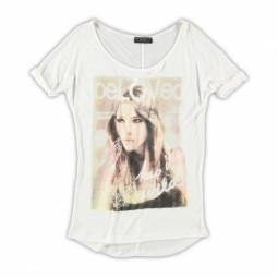 Geisha T-Shirt weiß, Mädchen