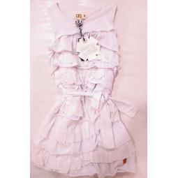 CKS Kleid Stufenkleid weiß,...