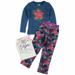 Vingino Pyjama blau, Mädchen