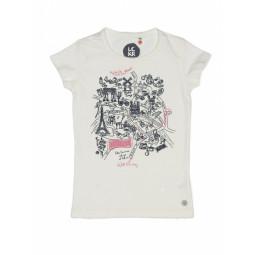 LCKR T-Shirt weiß, Mädchen