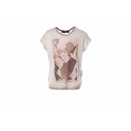 Geisha T-Shirt braun, Mädchen