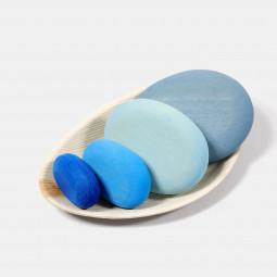 Grimms Flußkiesel blau