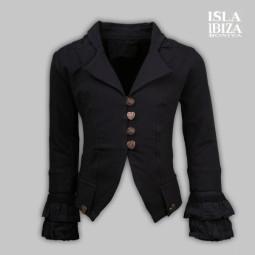 Isla Ibiza Jacke schwarz,...