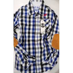 Grunt Jeans Hemd blau, Jungen