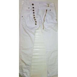 Damen Chinohose in weiß