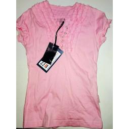 Pom Pom T-Shirt rosa, Mädchen