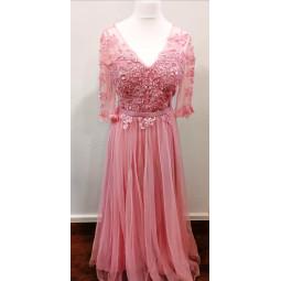 Abendkleid rosa, Damen
