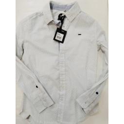 CKS Hemd weiß-blau...