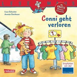 Lesemaus - Conni geht verloren