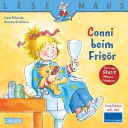 Lesemaus - Conni beim Frisör