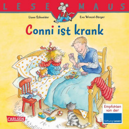Lesemaus - Conni ist krank