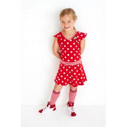 Mim Pi Socken rot, Mädchen