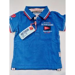 Retour T-Shirt blau,...