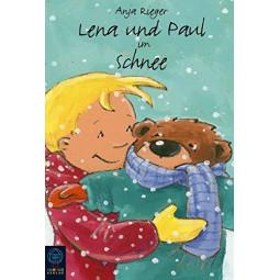 Lena und Paul im Schnee